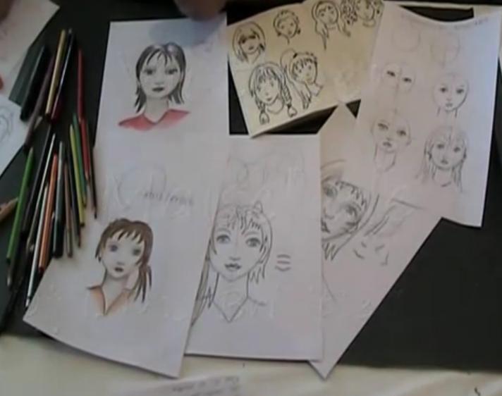 Gesichter Zeichnen